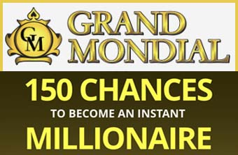 Grand Mondial - Mega Moolah best offer
