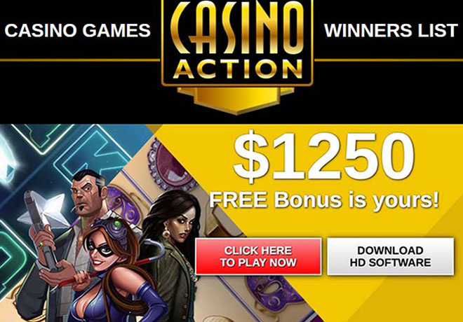 Games at Casino Action Ontario